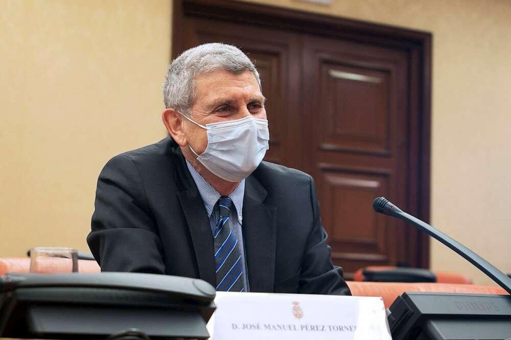 José Manuel Pérez Tornero es el presidente del nuevo consejo de administración de RTVE. En la imagen, una comparecencia suya en el Congreso el 13 de enero de 2021 | EFE/Congreso/VP/Archivo