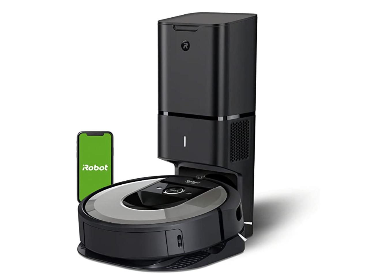 El robot aspirador de Amazon que está en oferta de la marca Roomba