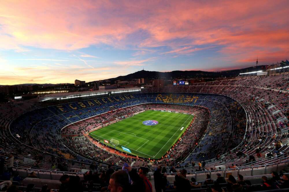Estadio del Camp Nou. EFE/ Alejandro García/Archivo