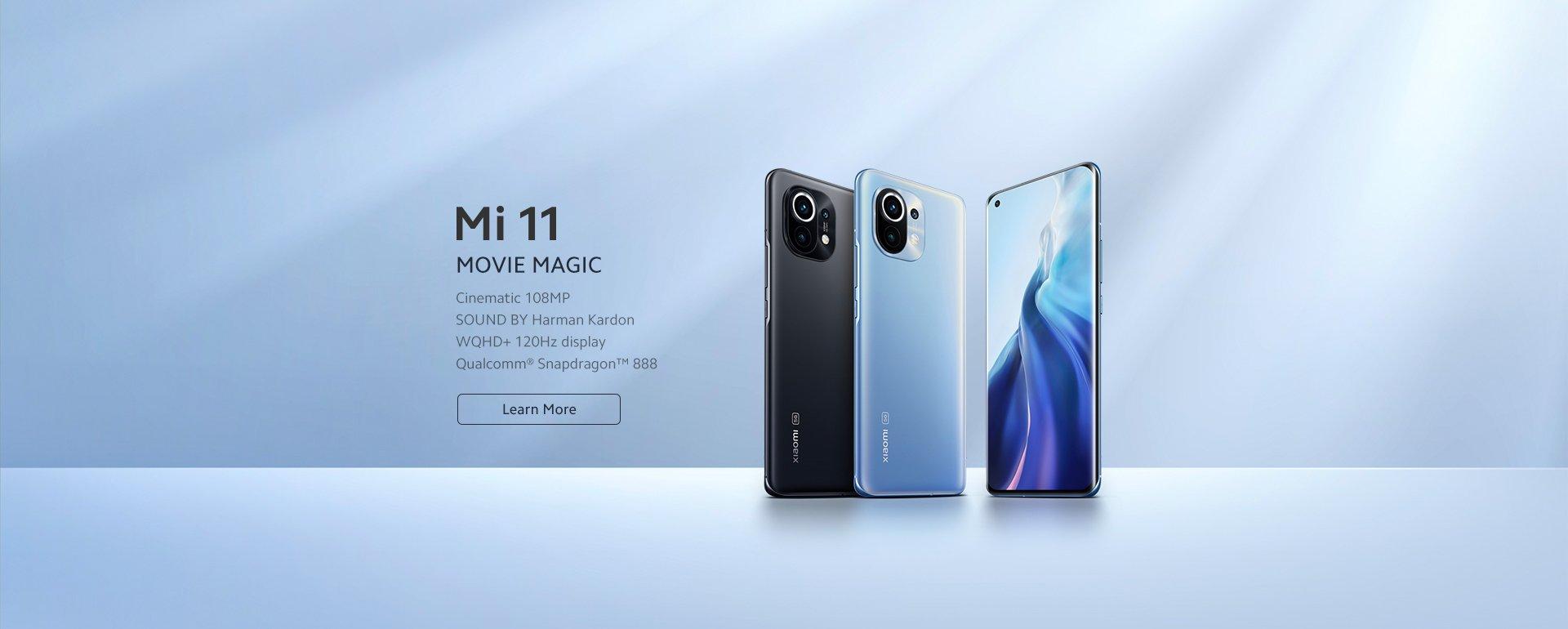 Imagen del lanzamiento oficial del Xiaomi Mi 11
