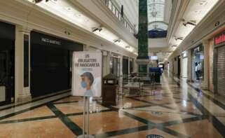 Vista del centro comercial de Gran Vía 2 en Hospitalet de Llobregat (Barcelona). EFE/Andreu Dalmau/Archivo