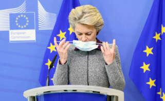 La presidenta de la Comisión Europea, Ursula von der Leyen. EFE