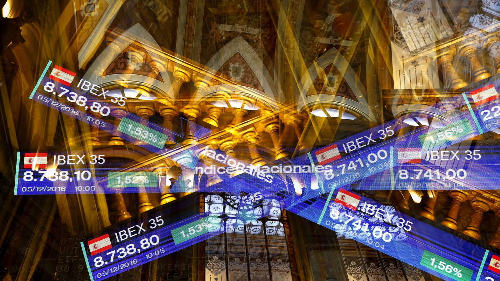 Imagen de archivo de la Bolsa de Madrid./ EFE