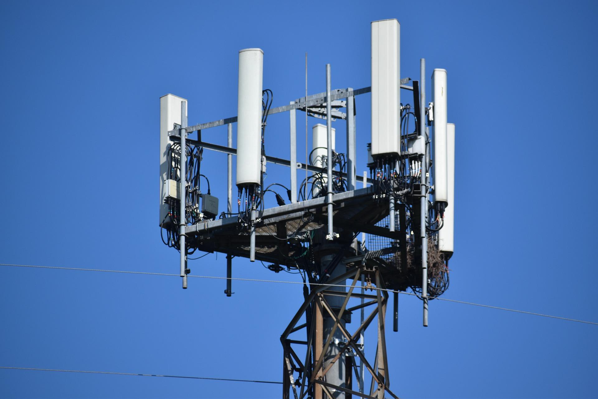 Una torre de telecomunicaciones