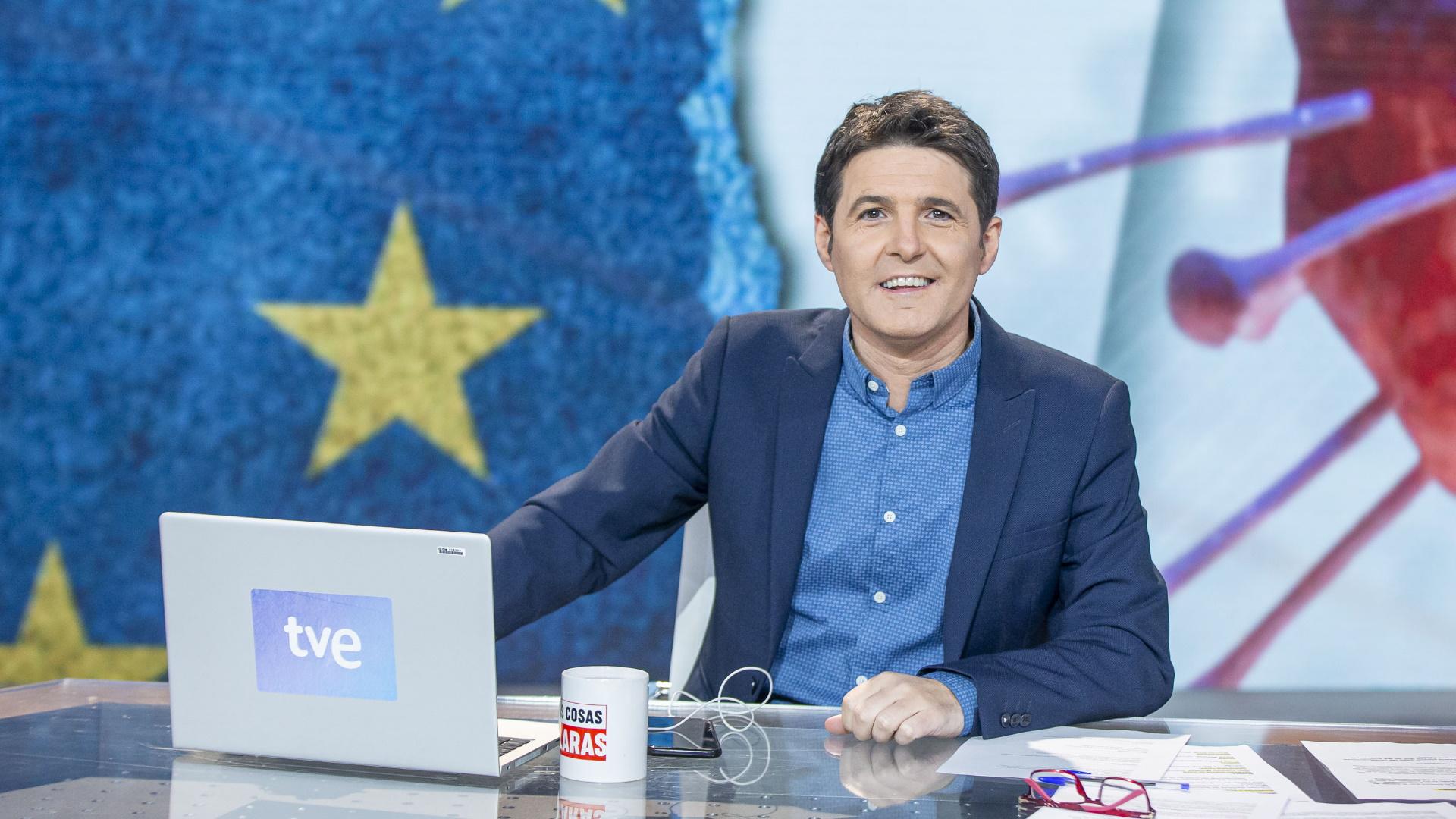 El presentador de 'Las cosas claras' en La 1 de TVE, Jesús Cintora | RTVE