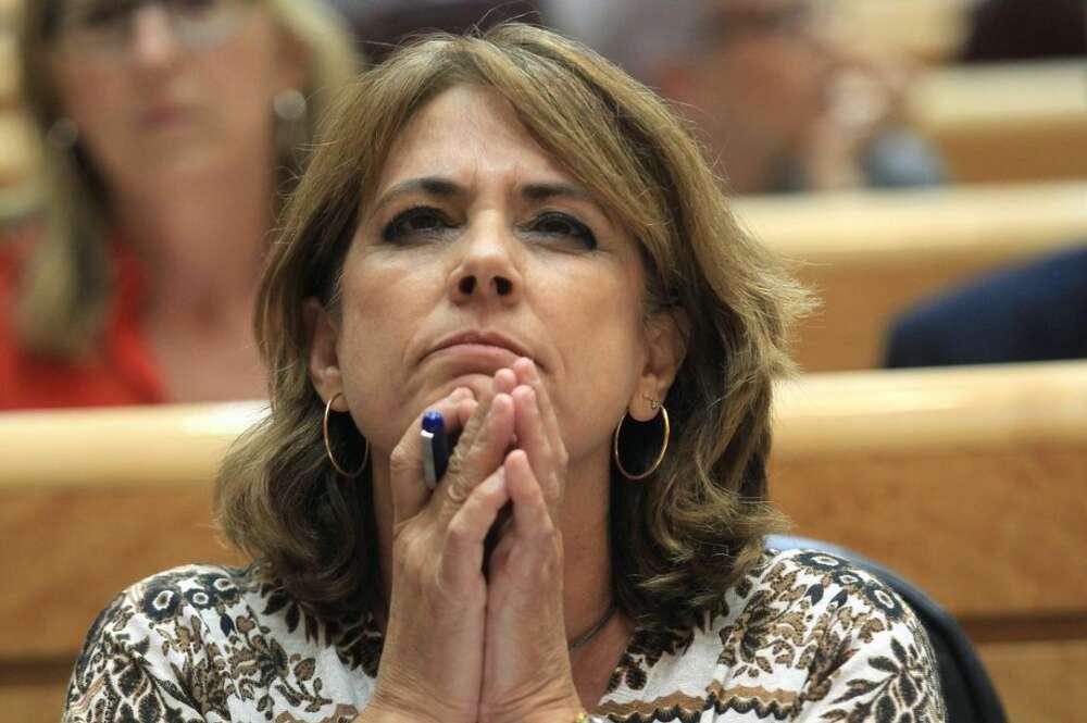 La fiscal general del Estado, Dolores Delgado./ EFE