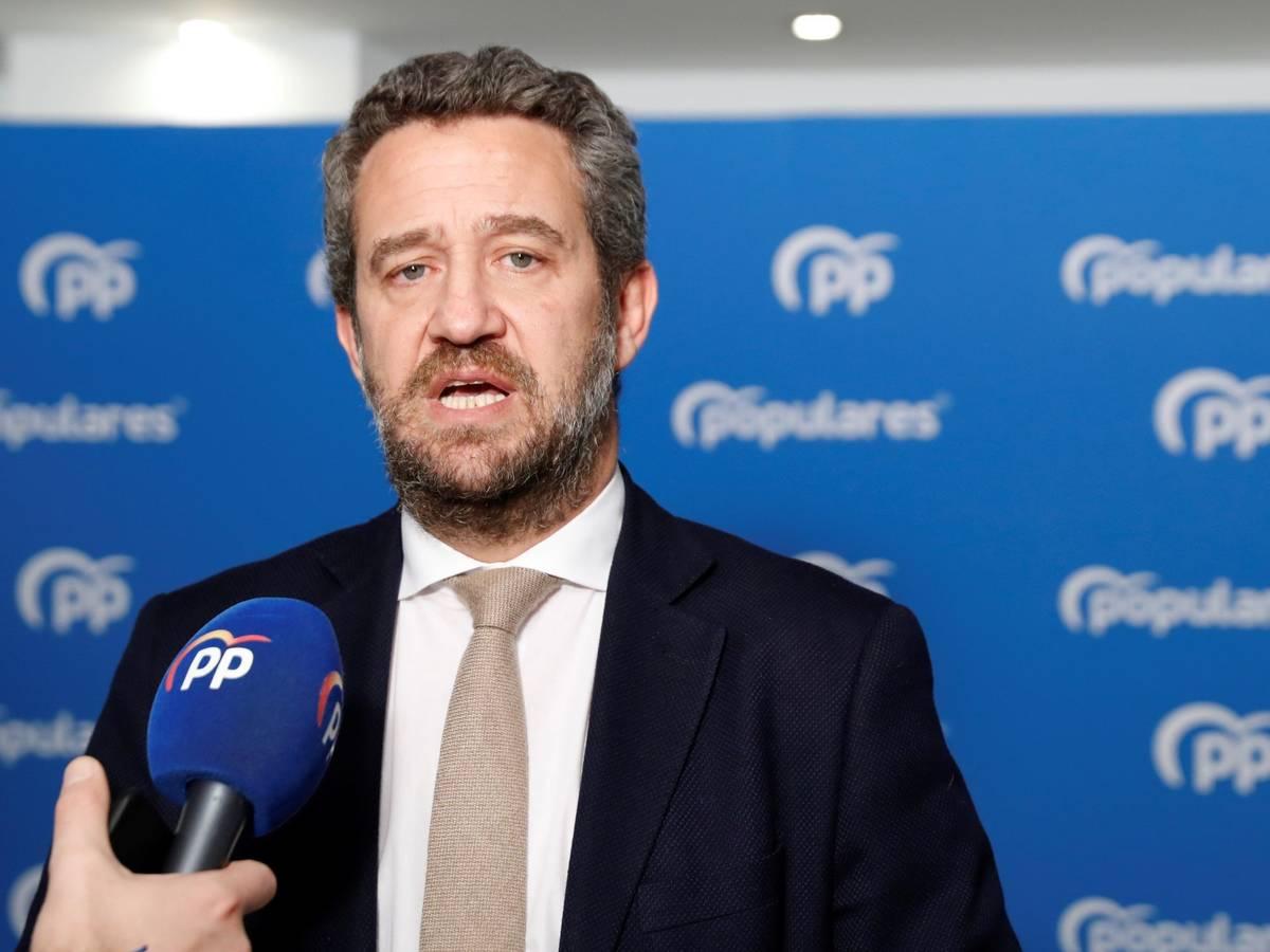 El vicesecretario de Participación del PP, Jaime de Olano, en una foto de archivo./ EFE