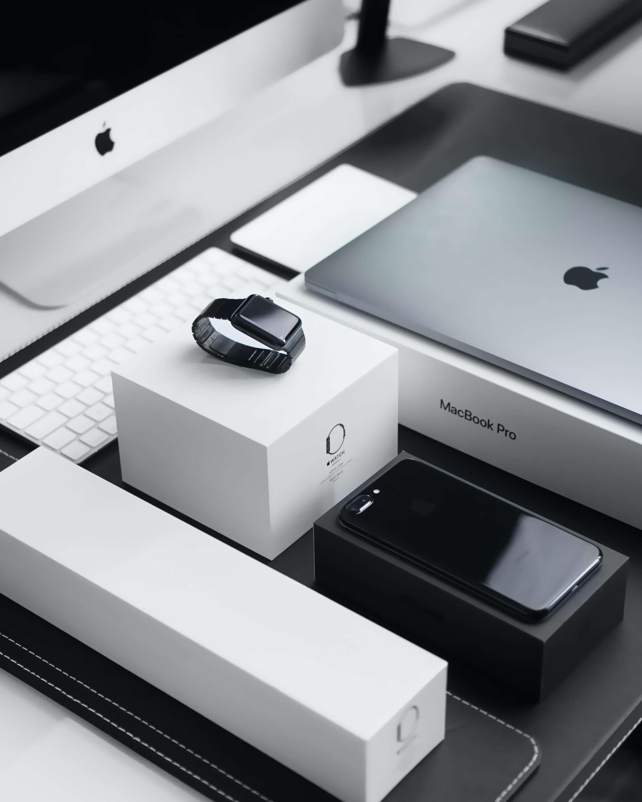 Aparatos de Apple, algunos de los cuales pueden presentar problemas