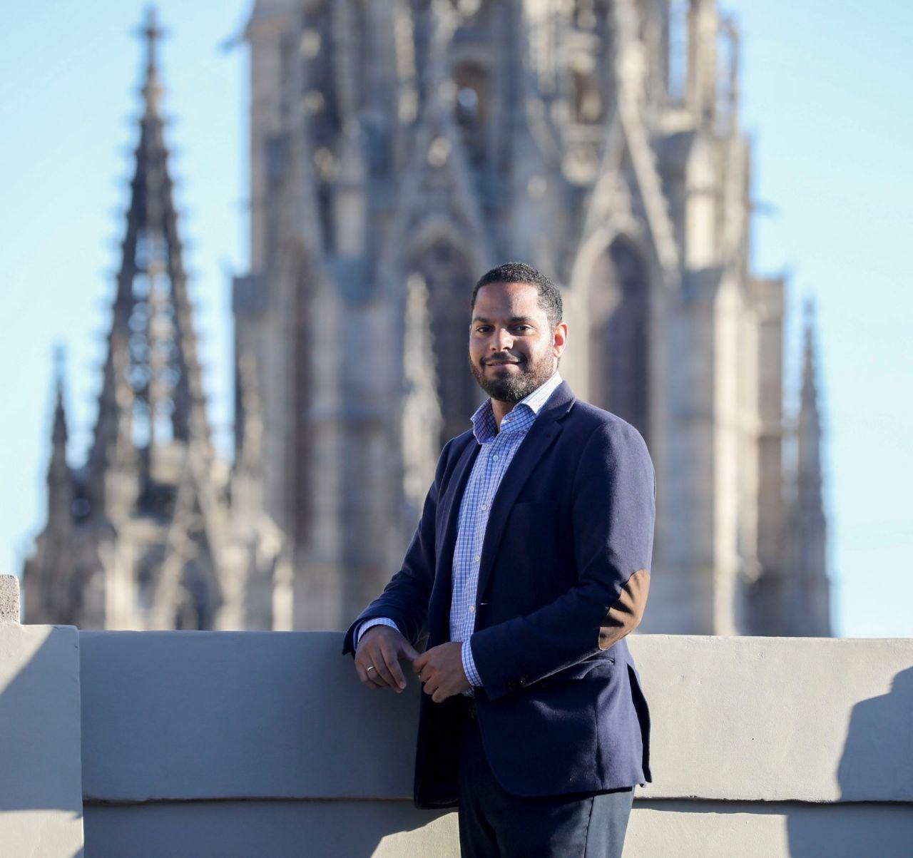 El candidato de Vox a la Generalitat, Ignacio Garriga. Foto: Vox
