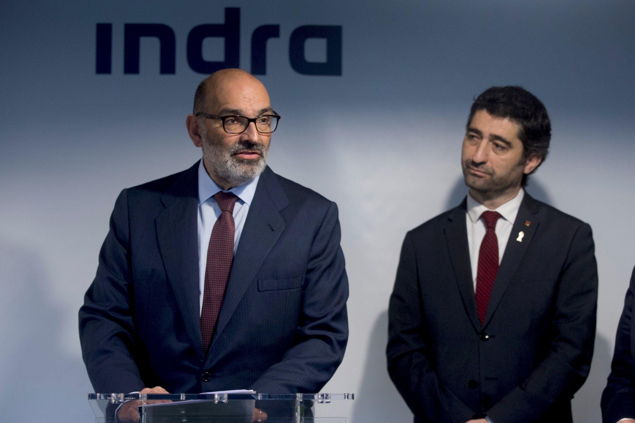 El presidente de Indra, Fernando Abril-Martorell./ EFE
