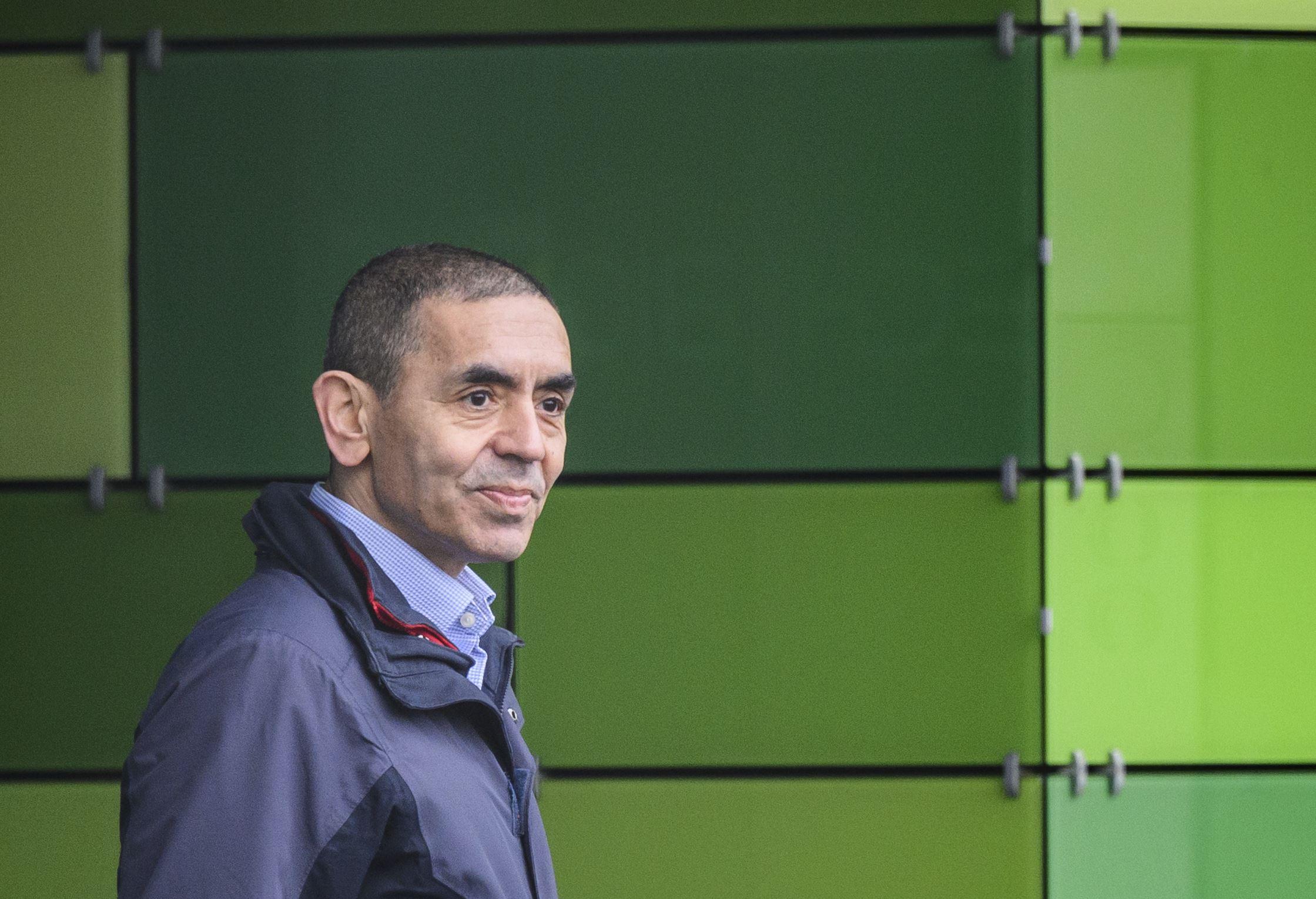 Ugur Sahin, director ejecutivo de Biontech, en una imagen reciente./ GETTY