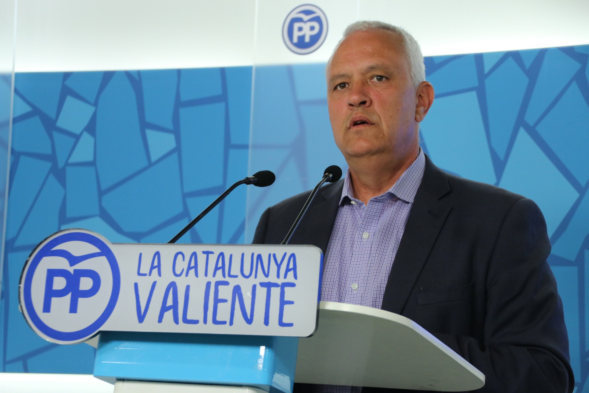 El exdiputado del PP de Cataluña y secretario general de la formación, Santi Rodríguez / PPC