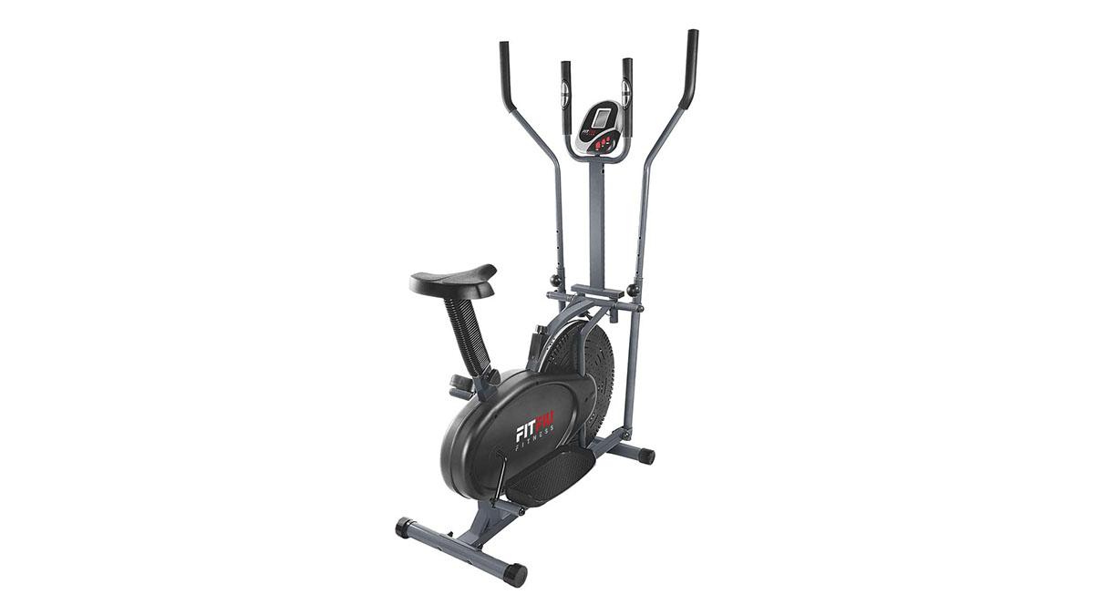 La bicicleta elíptica FitFiu Fitness BELI-120, disponible en Amazon