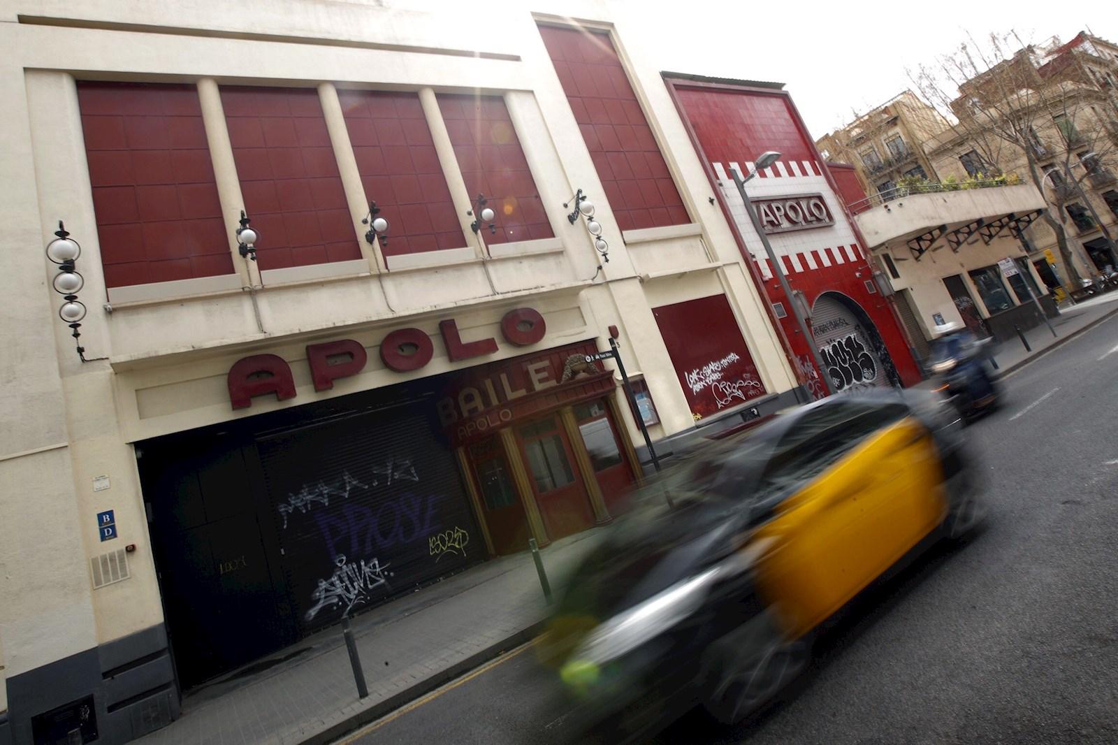 La sala Apolo, en Barcelona, cerrada por las restricciones contra el coronavirus | EFE/AG/Archivo