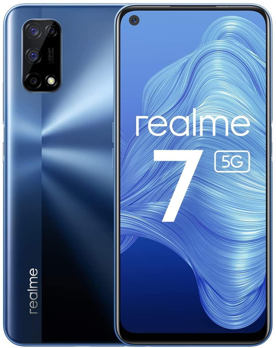 Amazon rebaja un 22% el smartphone Realme 7 con 5 G, hasta los 219 euros, lo que supone un ahorro de 60 euros respecto al precio original