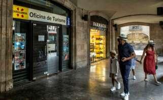 Oficina de turismo en Cataluña.