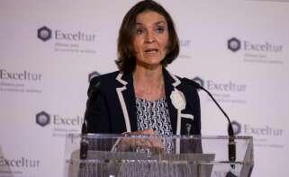 La ministra de Industria, Energía y Turismo, Reyes Maroto. EFE/Rodrigo Jimènez/Archivo