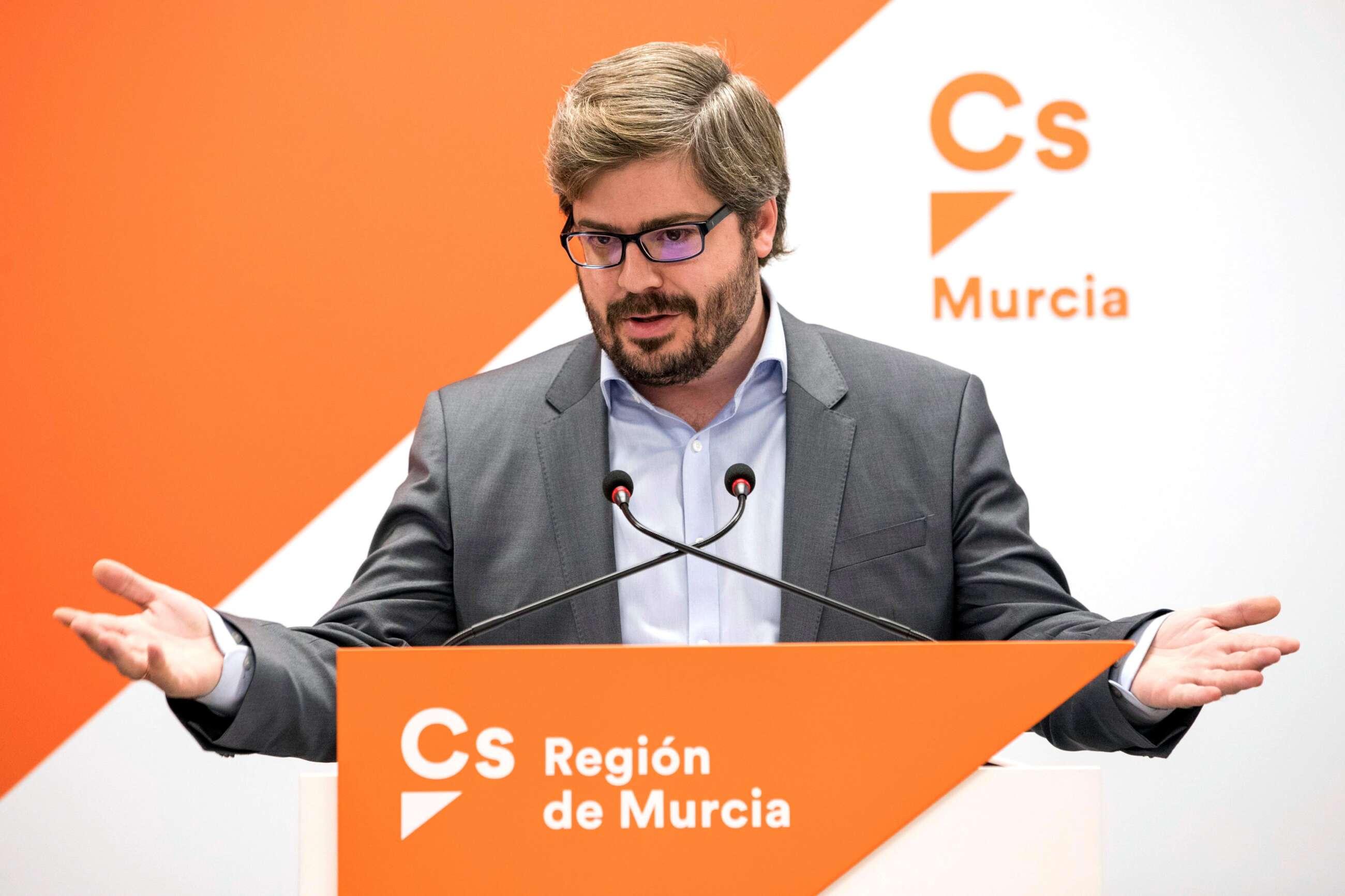 El exsecretario nacional de Organización de Ciudadanos, Fran Hervías. EFE/Marcial Guillén