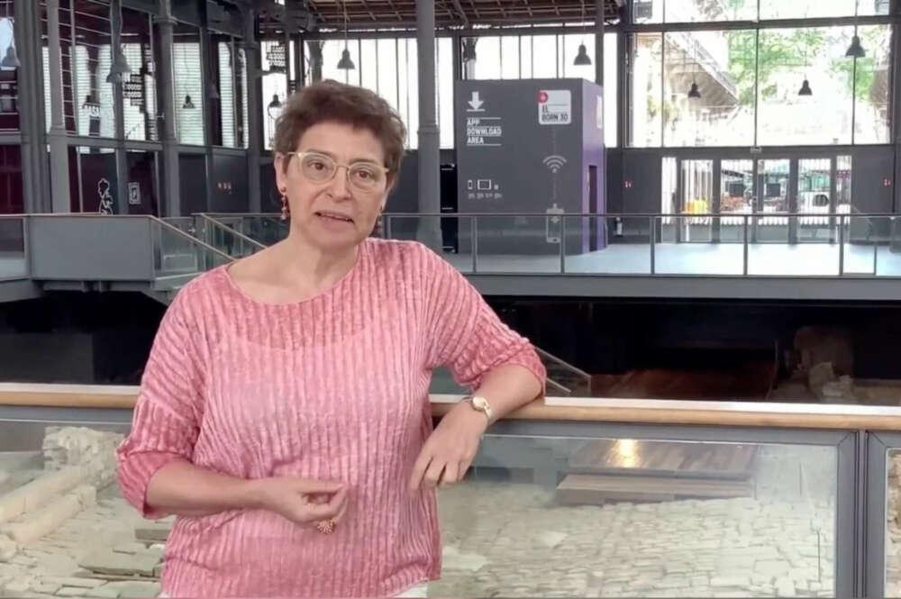 La directora del Born, en un vídeo del ayuntamiento de Barcelona sobre el espacio / Youtube