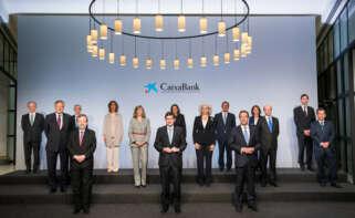 El consejo de administración de la nueva Caixabank.