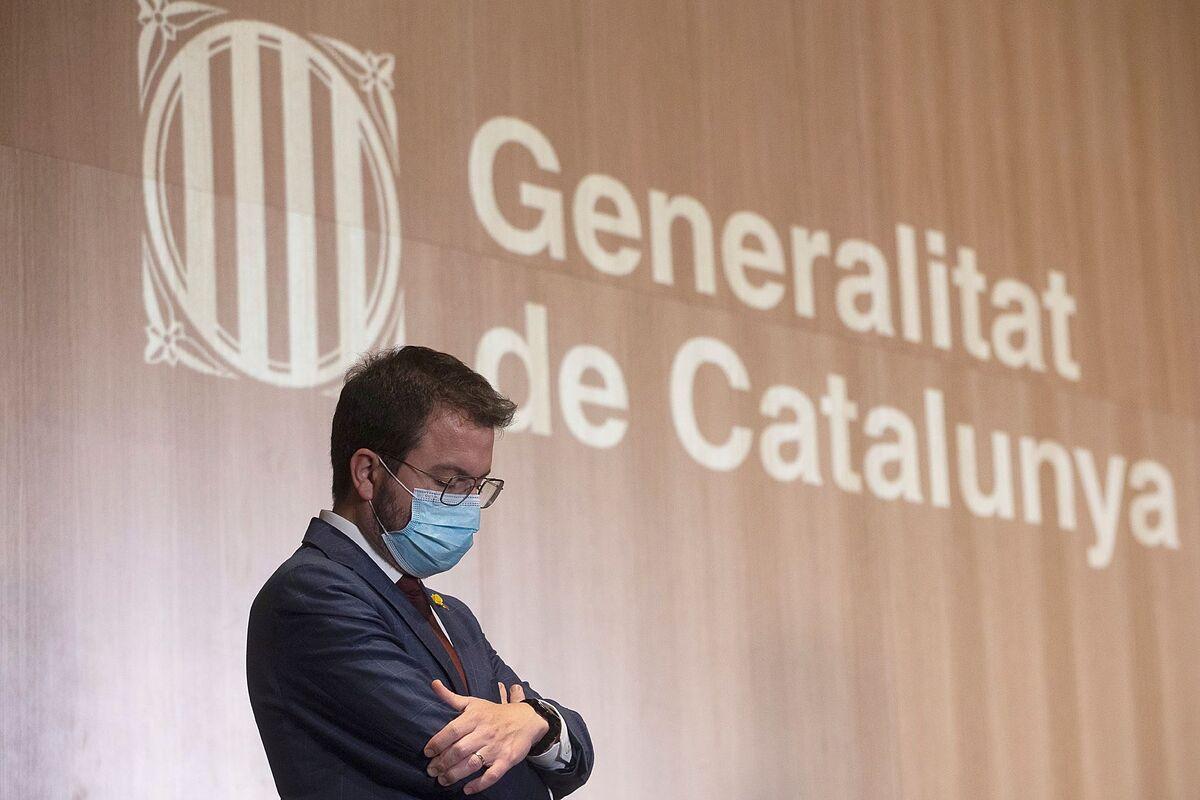 El vicepresidente de la Generalitat en funciones, Pere Aragonès. EFE/Quique García/Archivo