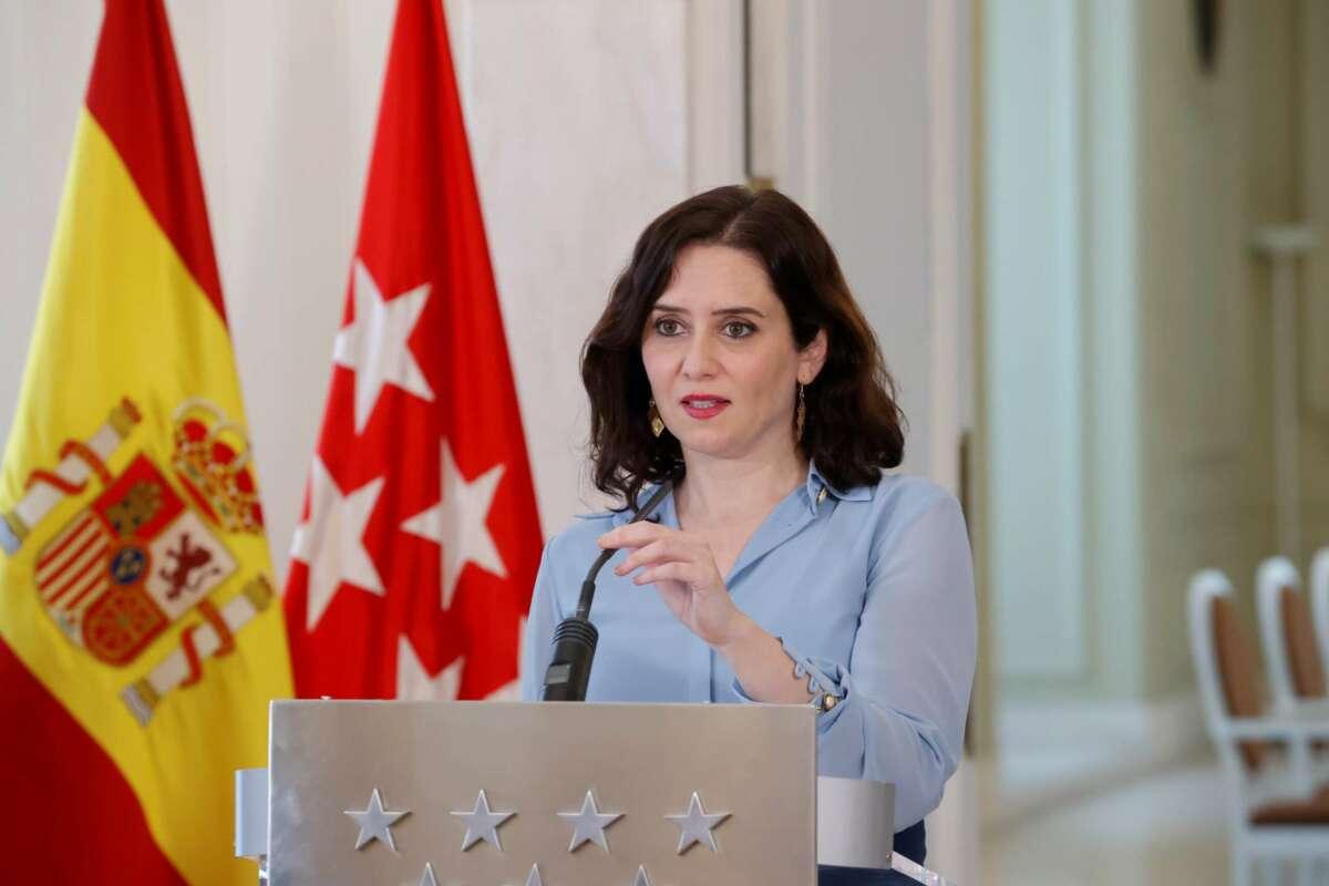 Isabel Díaz Ayuso . EFE