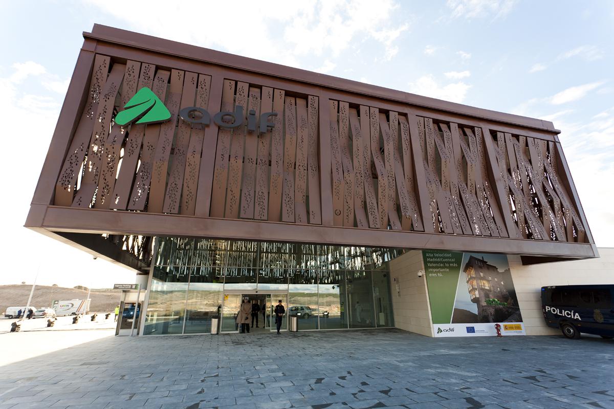 Imagen de la Estación de Alta Velocidad de Cuenca Fernando Zóbel