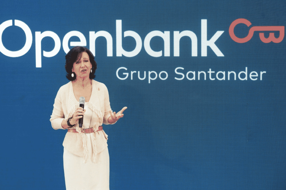 Ana Botín durante la presentación de Openbank.