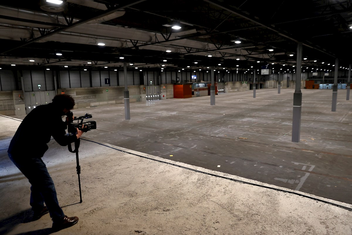 Un pabellón del recinto ferial Ifema, en Madrid, que del 22 al 24 de marzo acogerá su primer congreso presencial desde que inició la pandemia | EFE/CM/Archivo