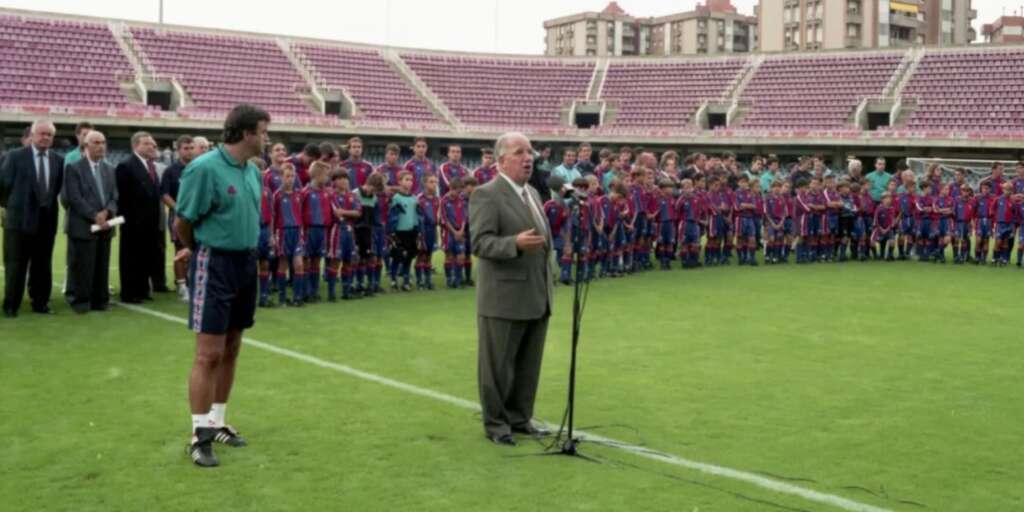 Imagen de Josep Mussons en el Miniestadi / FC Barcelona