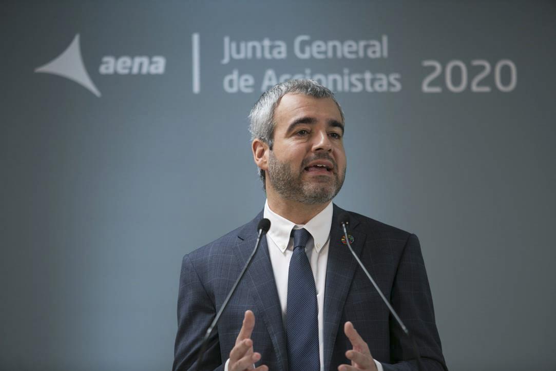 Maurici Lucena, presidente de Aena