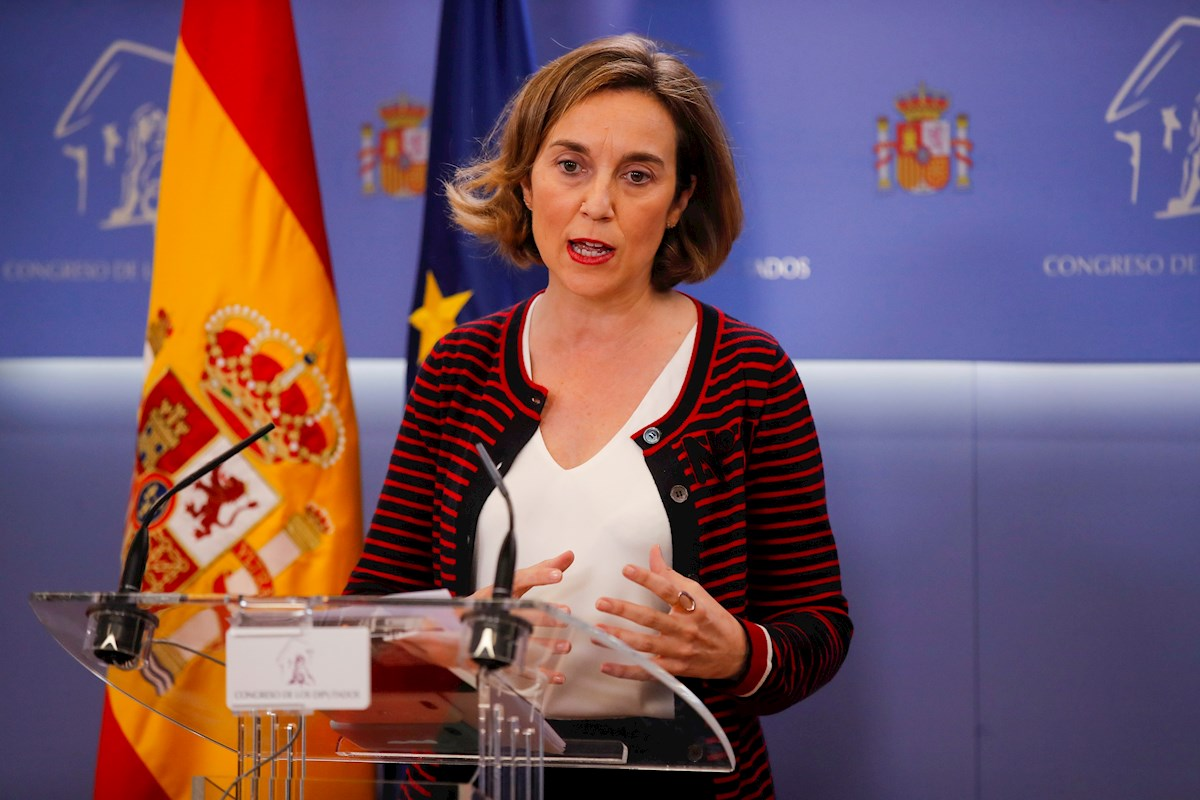 . En la imagen, la portavoz del PP, Cuca Gamarra. EFE/Juan Carlos Hidalgo