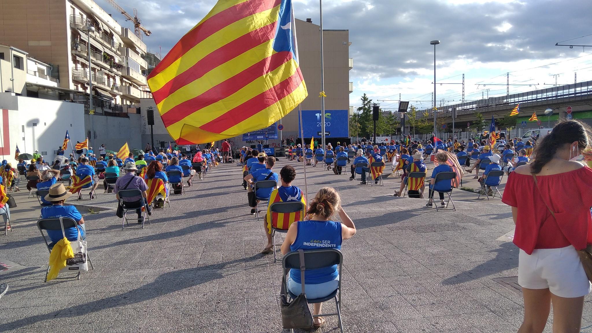 Acto de la Diada de 2020 en Girona promovido por la ANC / ANC