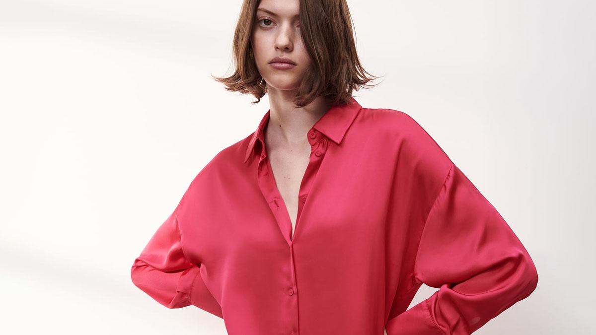 Camisa Fluida Tie Dye de Zara / Zara