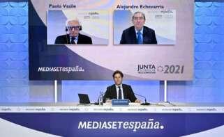 Junta de Accionistas de Mediaset de 2021. Fuente:Mediaset