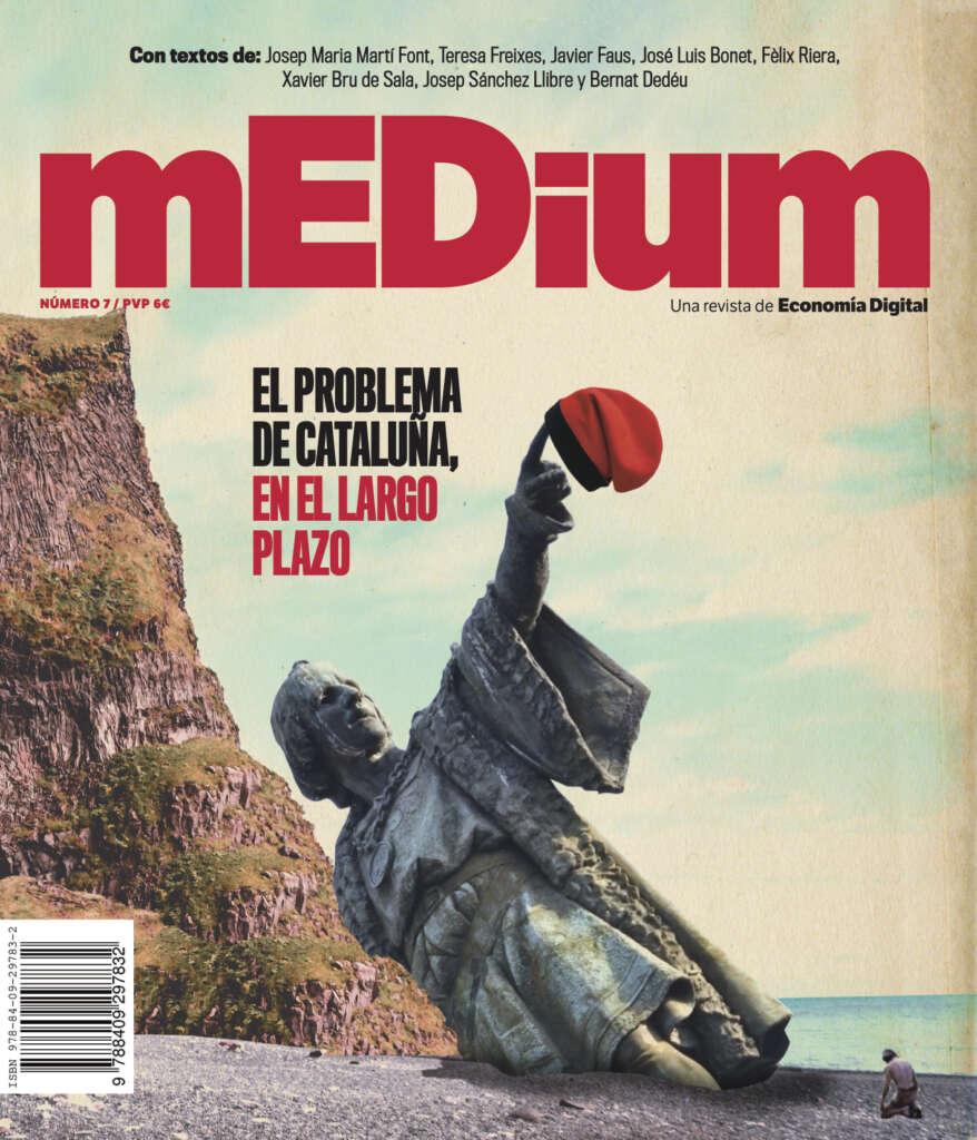 Portada de la revista 'mEDium 7' sobre el problema de Cataluña