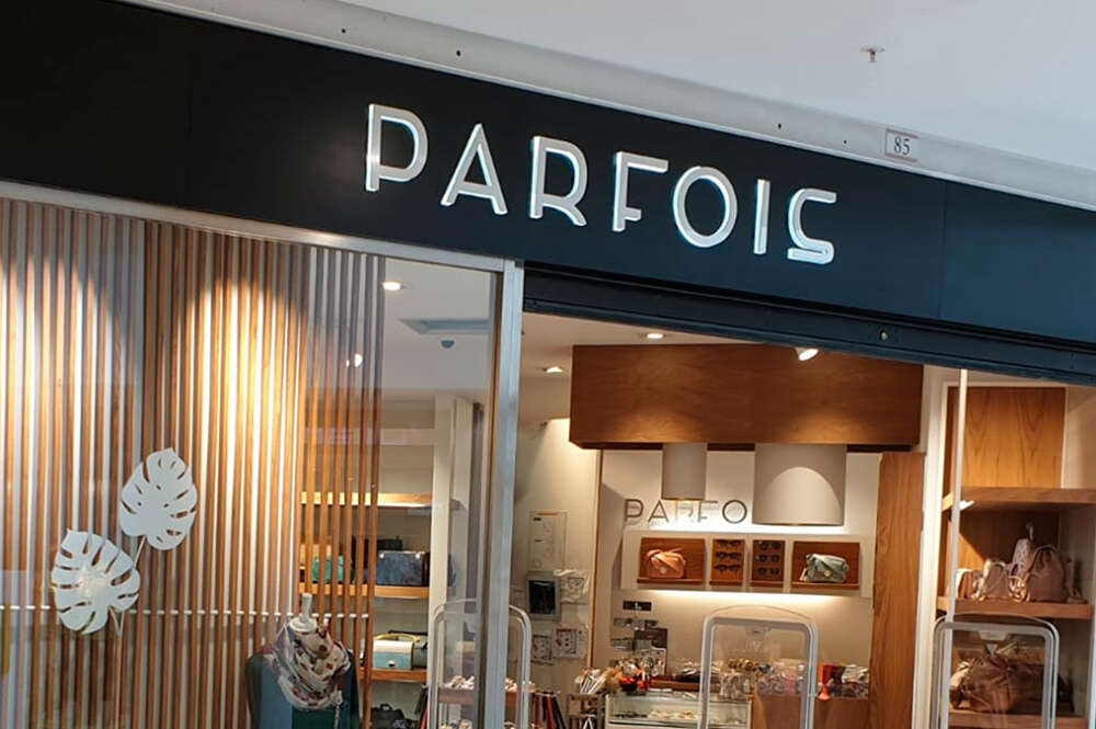 Cada vez más tiendas Parfois abren en el país, especialmente en centros comerciales y estaciones