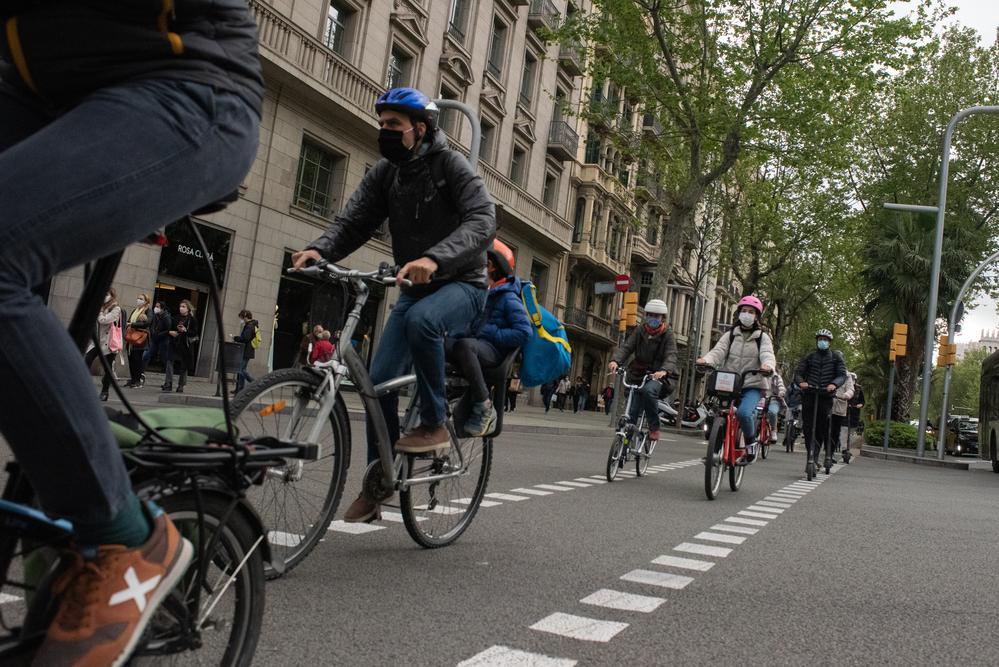 """El RACC ha presentado el """"3er Barómetro RACC del Ciclista Urbano en Barcelona"""", un estudio que analiza los hábitos y la opinión de las personas que se desplazan en bicicleta por la ciudad."""