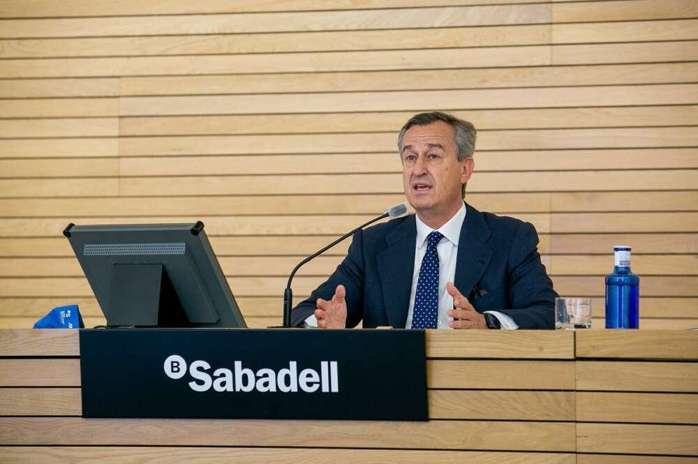 El consejero delegado del Banco Sabadell, César González-Bueno.