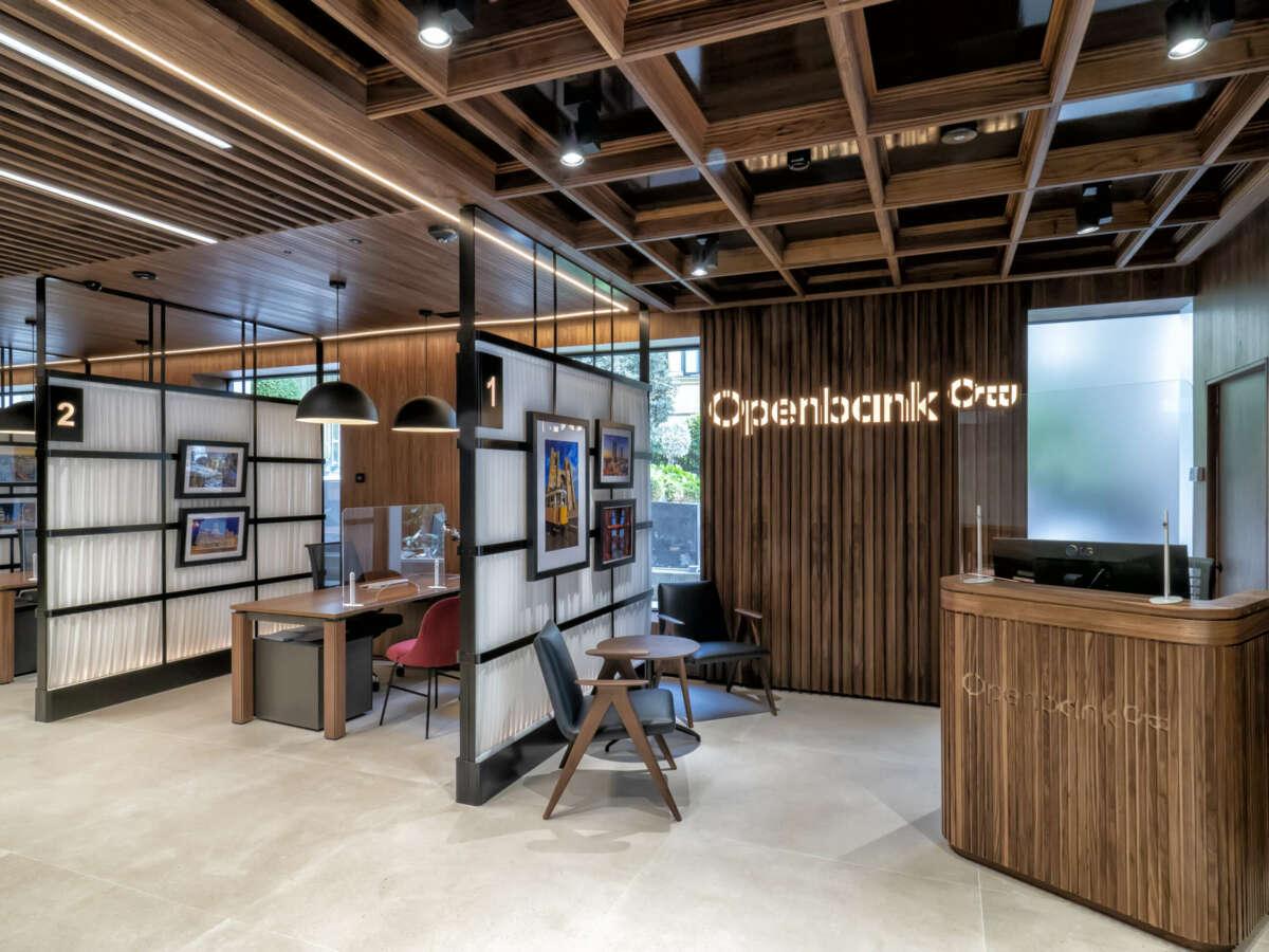 Openbank córner, nueva sucursal en Madrid.