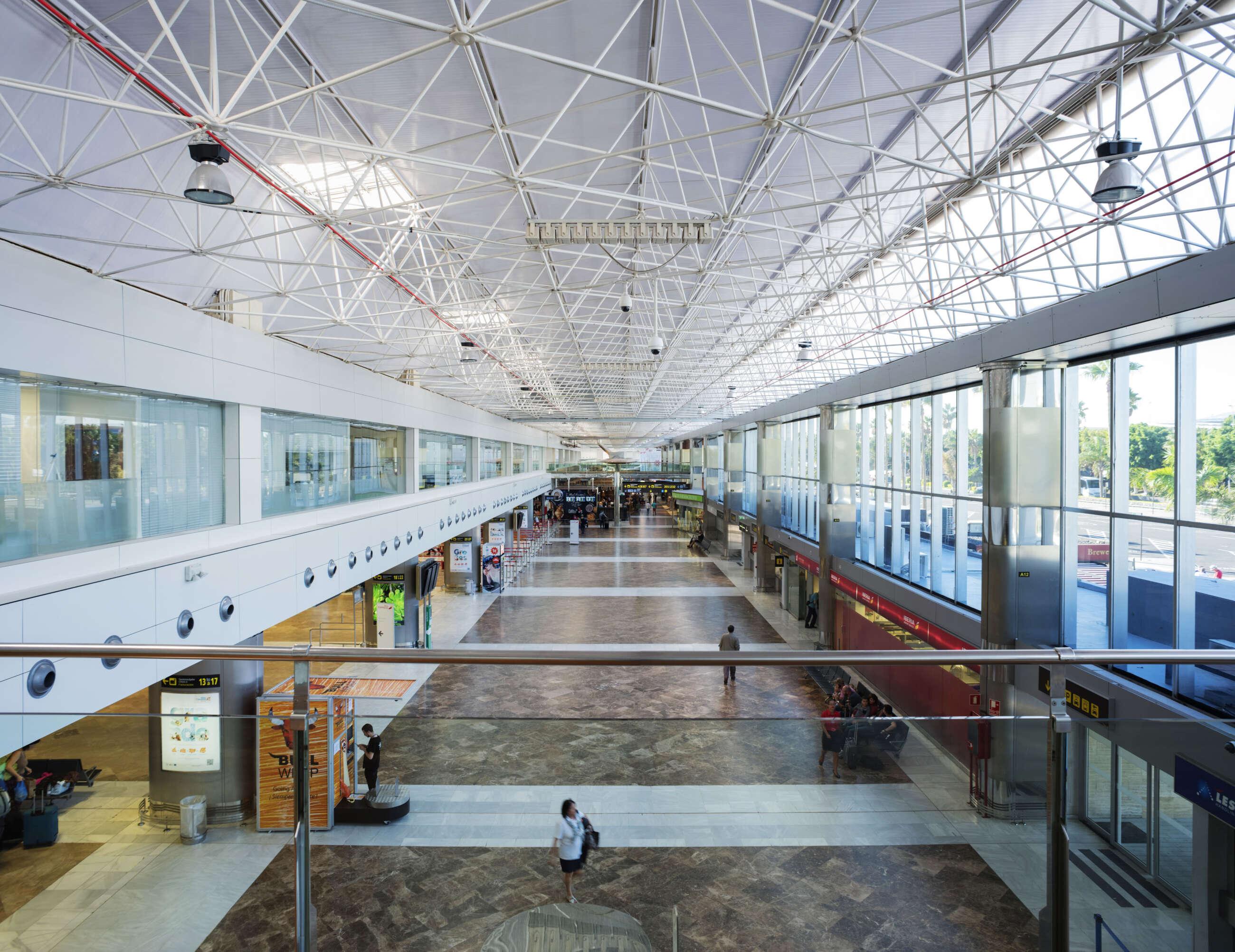 Una imagen de un aeropuerto de Aena