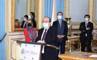 El ministro de Política Territorial y Función Pública, Miguel Iceta.