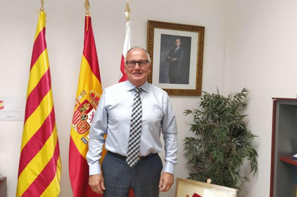 El presidente del PP en el ayuntamiento de Barcelona, Josep Bou / ED