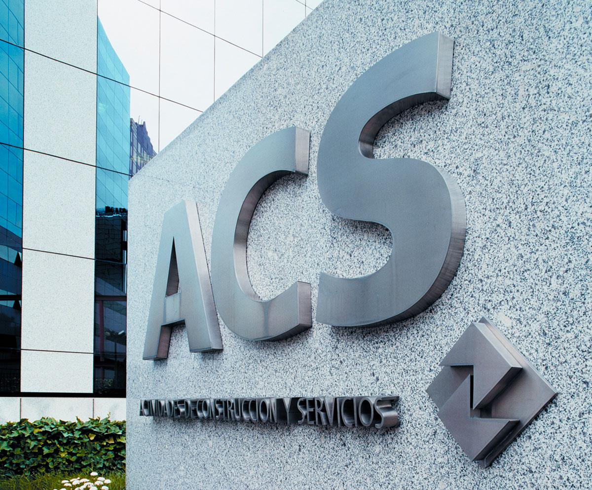 Sede de ACS, en Madrid. Fuente: ACS