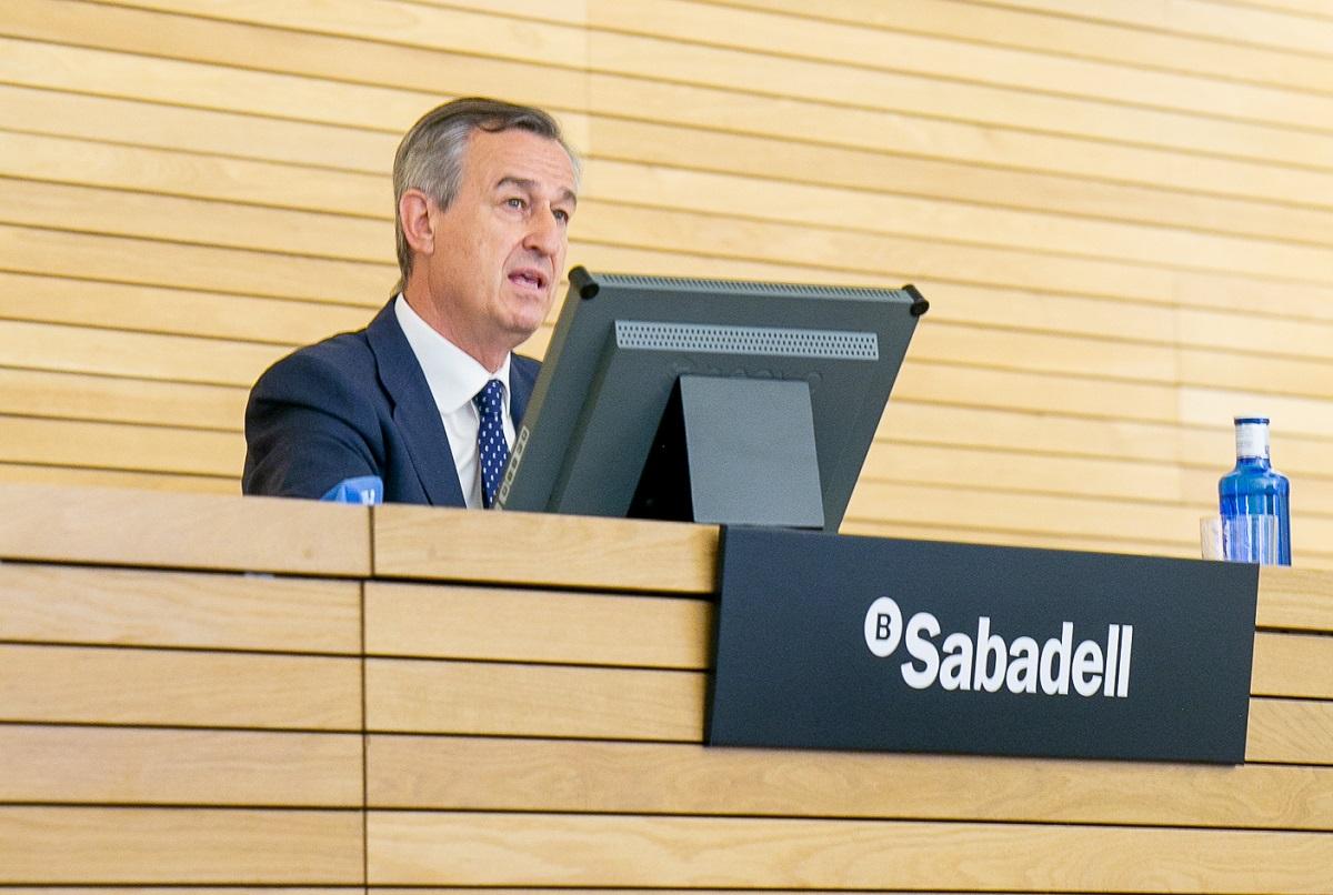 César González-Bueno, CEO del Banco Sabadell