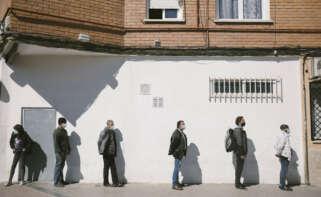 Arranca la campaña Ningún hogar sin alimentos. La demanda a los bancos de alimentos ha aumentado en España un 50 % a raíz de la crisis de la COVID-19.