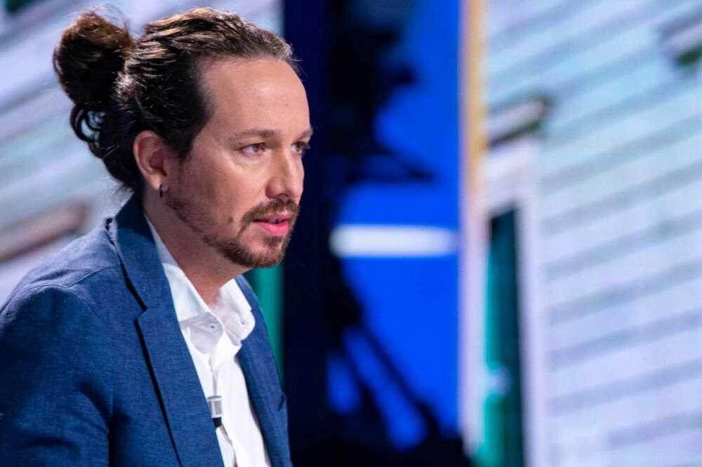 El líder de Podemos, Pablo Iglesias, en una entrevista en La 1 de TVE en septiembre de 2020   RTVE/Archivo