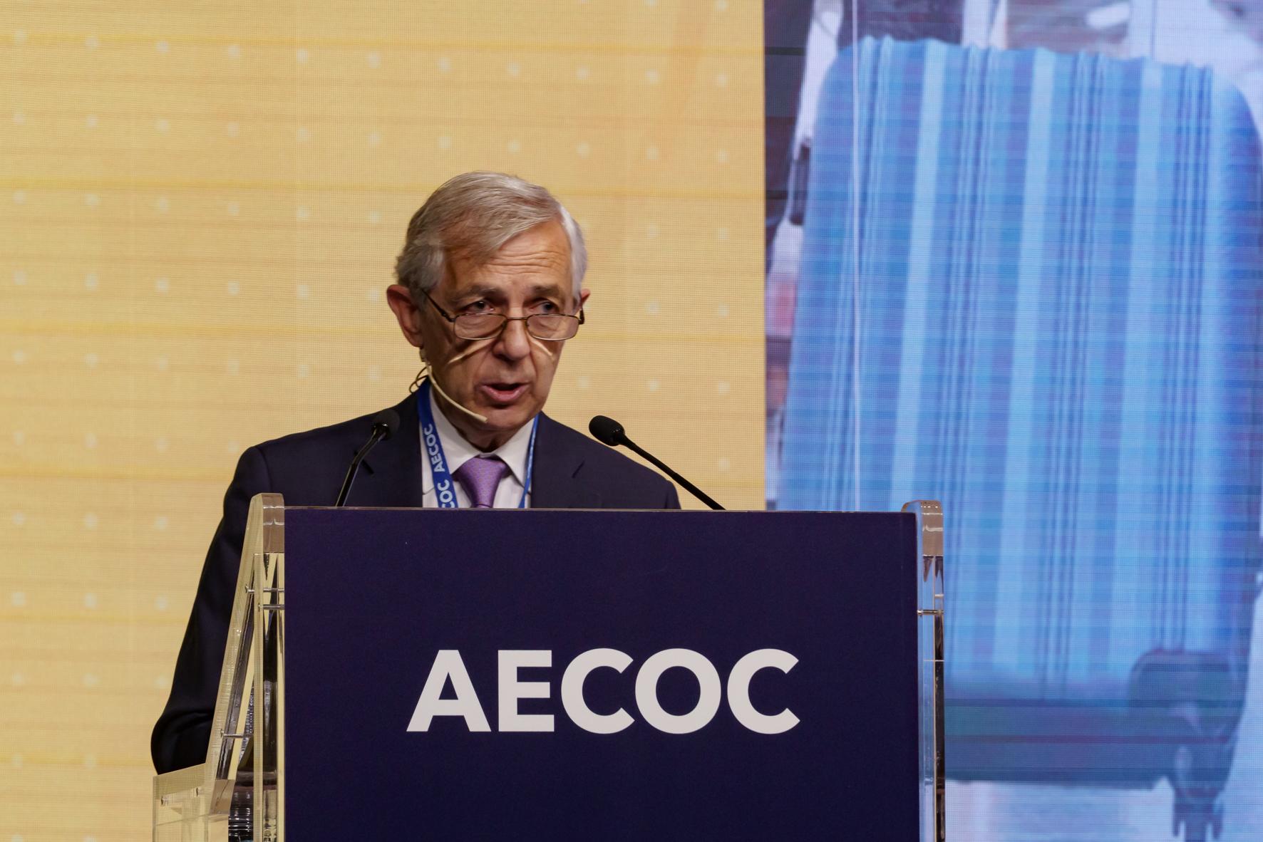 El presidente de AECOC, Javier Campo. EFE