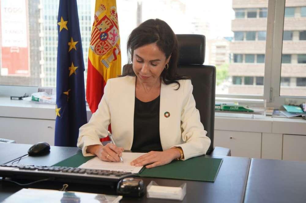 Isabel Pardo de Vera, presidenta de Adif.