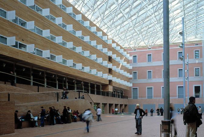 Imagen de la Universitat Pompeu Fabra en su campus de Roger de Llúria / UPF